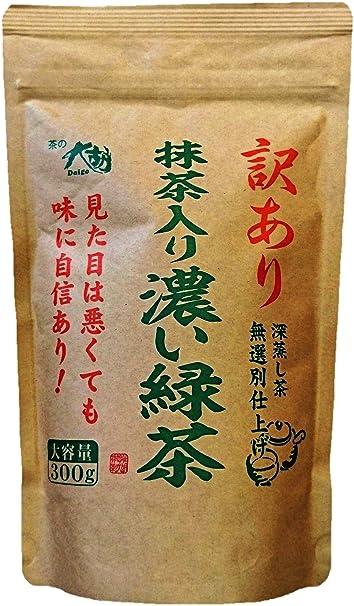 茶の大胡 抹茶入り濃い緑茶 300g