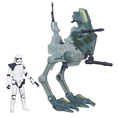 Star Wars The Force Awakens 3.75-inch Vehicle Assault Walker: Toys & Games