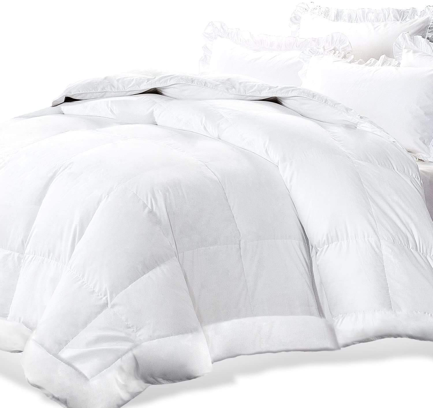 Deals on Adoric Life White Down Alternative Quilted Comforter King