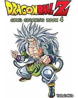 dragonball z goku coloring book vol4 coloring book - Dbz Coloring Book