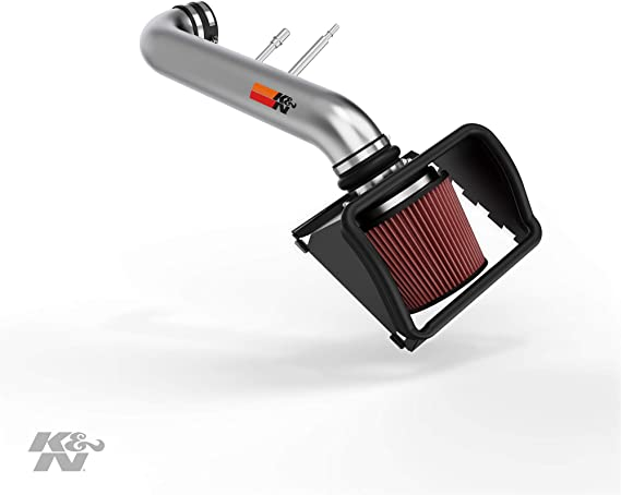 K/&N Performance Cold Air Intake System 77-2581KP 2011-2014 Ford F-150 5.0L V8