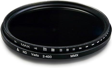 7D 70D Canon EOS 1DX NX10 5D 1000D ND400 densidad neutral ajustable para Nikon Df Samsung NX 5D Mark II 58mm Variable ND Filtro ND2 6D 30D 50D 10D NX11 60D III 40D