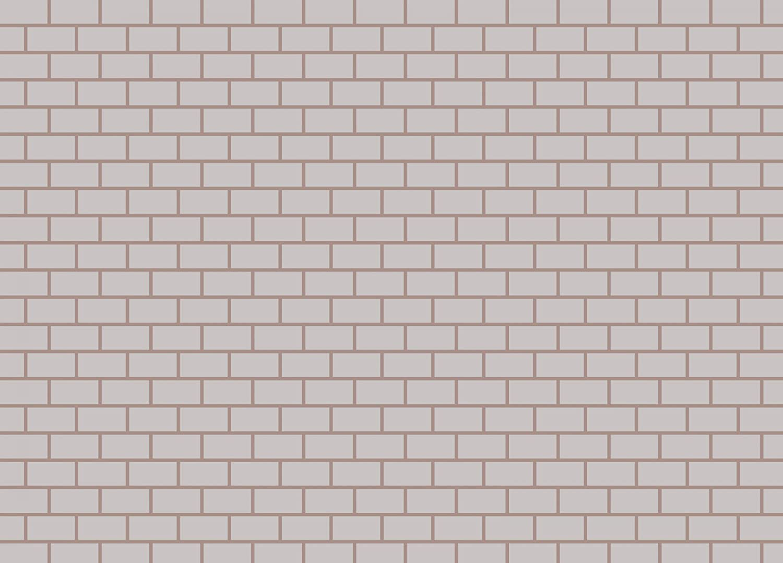 Amazon ラミネート加工ポスターホワイトレンガ壁クリップアート