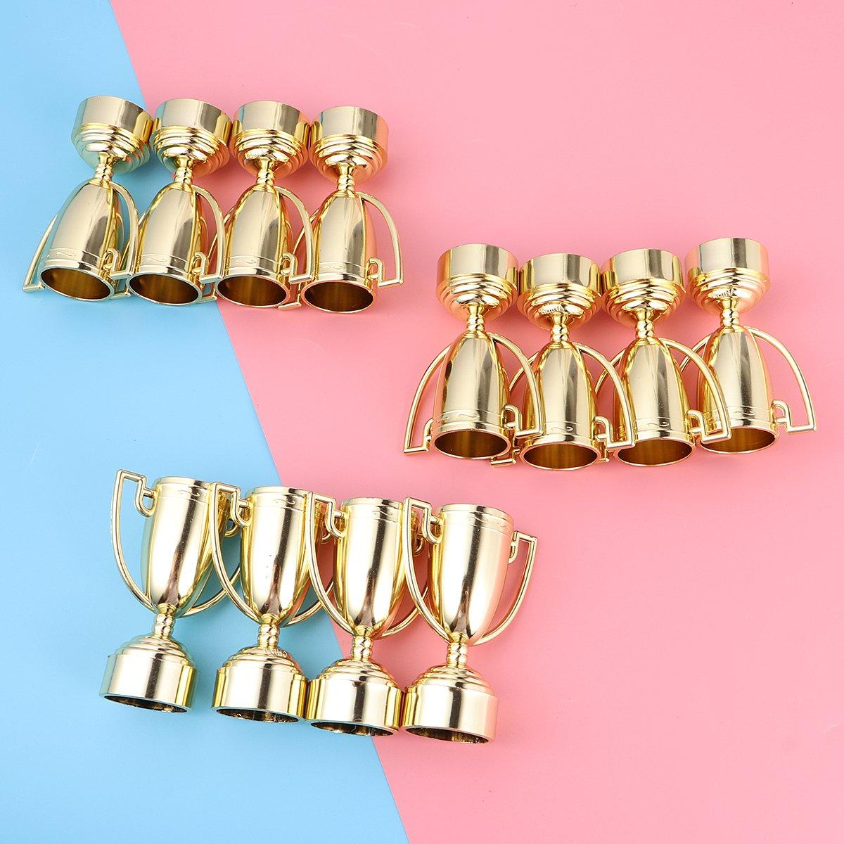 f/êtes Concours de Prix Toyvian Lot de 12 troph/ées en Plastique pour Enfants Prix Accessoires