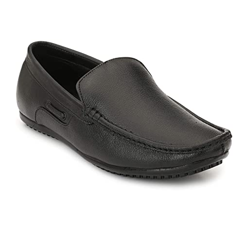 Loafer Shoes Black Latest Canvas Oxford