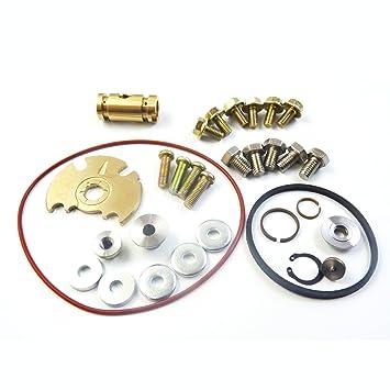 Turbo reparación reconstruir reconstruido Turbocompresor de batería nuevo GT15 - 25 GT1749 V: Amazon.es: Coche y moto