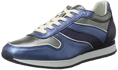 Tommy Hilfiger I1285ZZY 1C2, Sneakers Basses Femme, (Midnight-Dark Silver-Jeans), 41 EU