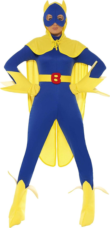 Smiffys - Disfraz de super plátano para mujer, talla S (34067S ...