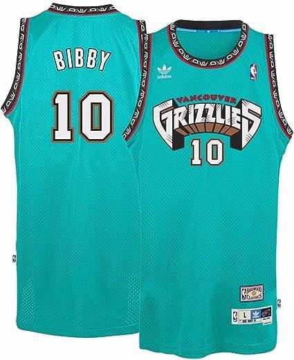 Mike Bibby Vancouver Grizzlies Adidas NBA Throwback Swingman Jersey - Teal