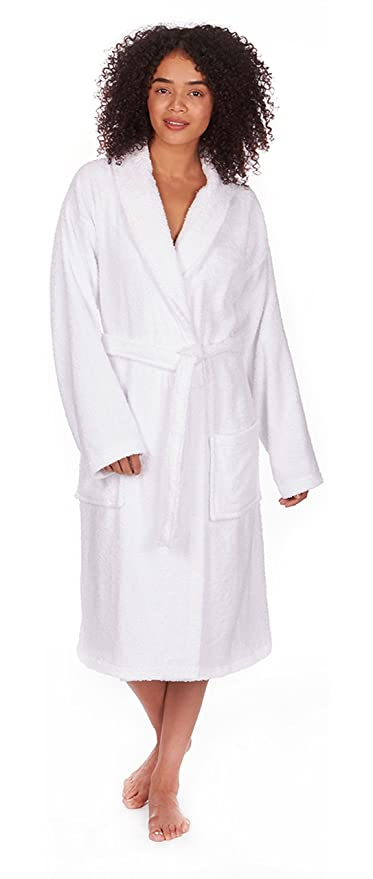 Best Deals Direct Ladies Terry Towelling Dressing Gown: Amazon.co.uk ...