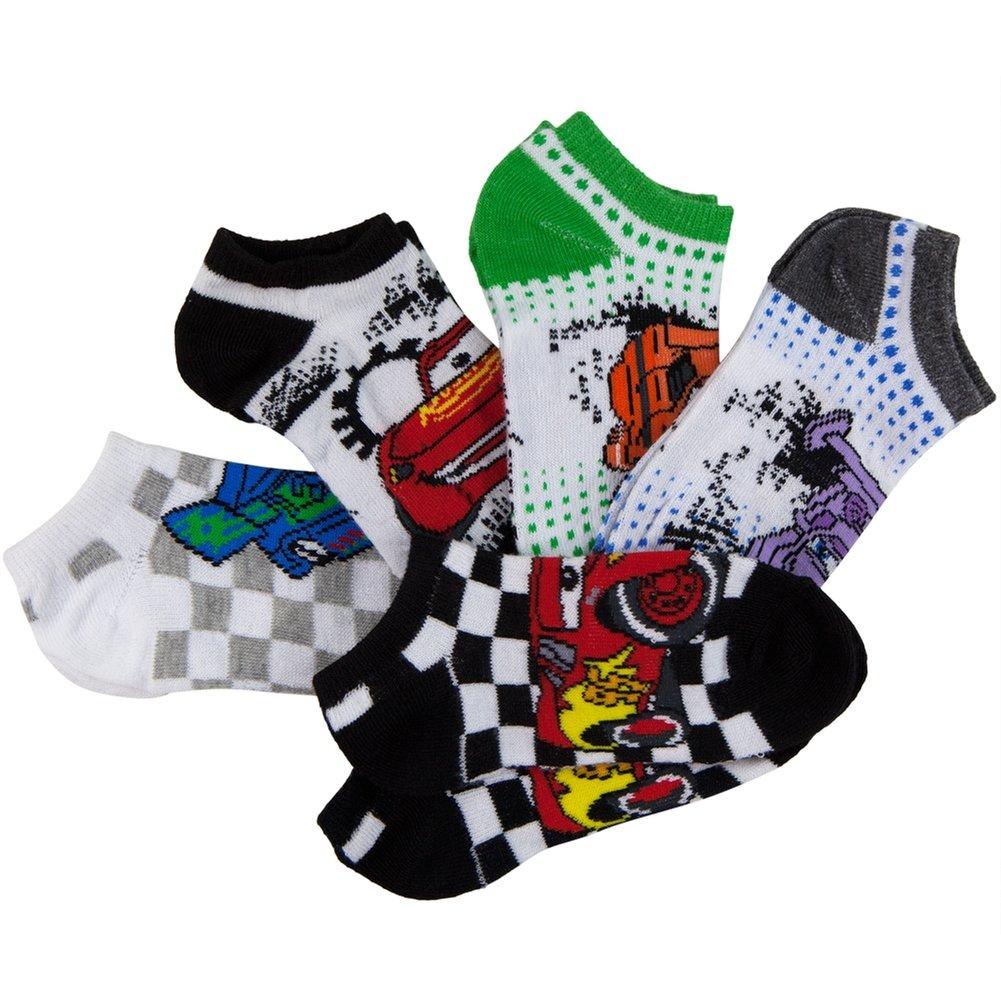 Cars Characters Kids Socks 5 Pack