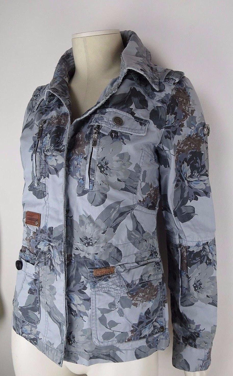 KHUJO Jacke ALIS Gr Damen Übergangsjacke Designer Marken Jacke L Blau
