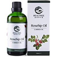 HEALTREE Rosehip Oil 100ml (100% Pure & Natural Cold Pressed Virgin Grade) | Perfect for Skin Care, Face Moisturiser…