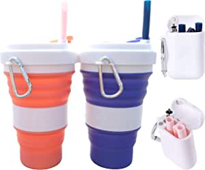 Juego de 6 tapas el/ásticas de silicona para cuencos frascos GEECOOK latas fundas para guardar alimentos cristaler/ía aptas para lavavajillas
