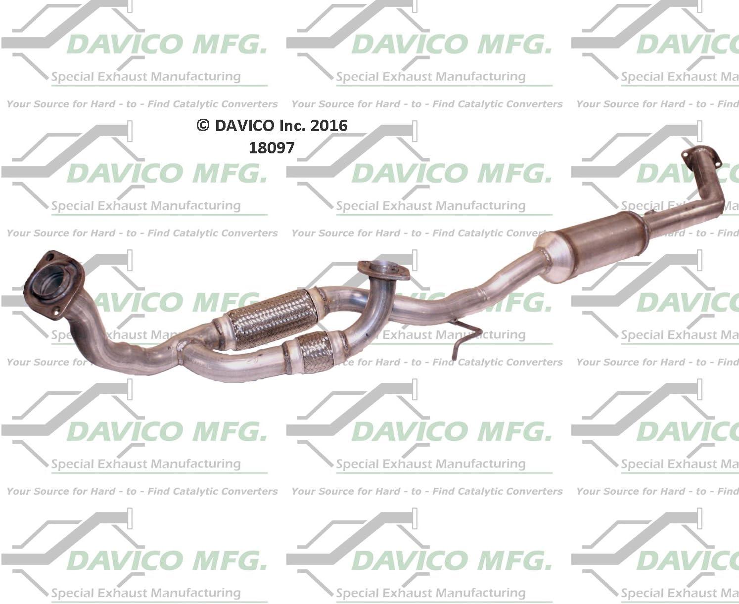 Davico 18097 Catalytic Converter