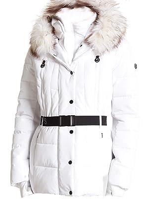 a33fb25ace400 Michael Michael White Puffer Jacket (L) at Amazon Women s Coats Shop