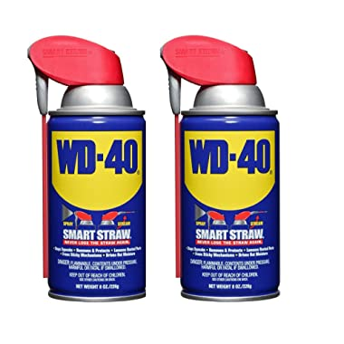 WD-40 110057 Multi-Use Product Spray with Smart Straw, 8 oz. (Pack of 2)