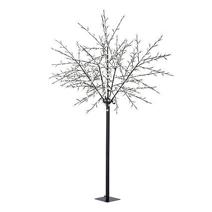 Außen 600 x LED Deko Garten Beleuchtung Lichter Baum Stand Leuchte Kirsch-Blüten