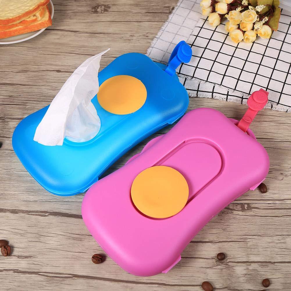 Baby Wipe Case, Portable Baby Kid Wipe Storage Box Wet Wipes Holder Dispenser Pram Accessories Outdoor Use (# 1) GLOGLOW