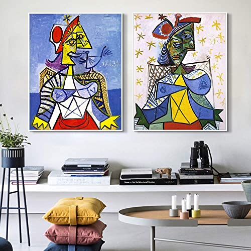 INVIN ART Framed Canvas Art Combo Painting 2 Piece