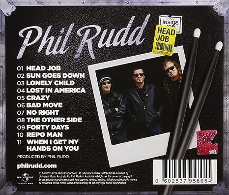 Head Job by Phil Rudd: Amazon.co.uk: Music