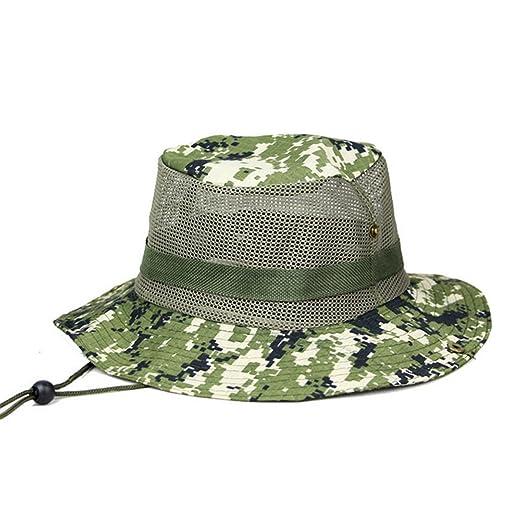 71e1b585ab9 Amazon.com  Netursho Outdoor Sun Hat Camouflage Boonie Hat Hunting ...