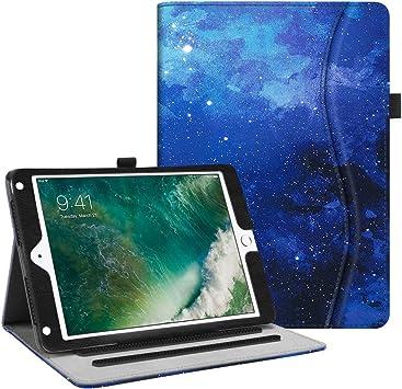 iPad Air - Fintie Case for iPad 9.7 2018//2017 Black iPad Air 2 iPad Air 1//2 Auto Wake//Sleep for iPad 6th // 5th Gen Corner Protection Premium Vegan Leather Folio Stand Cover
