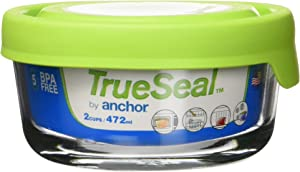 Anchor Hocking 2-c. Round True Seal Canister.