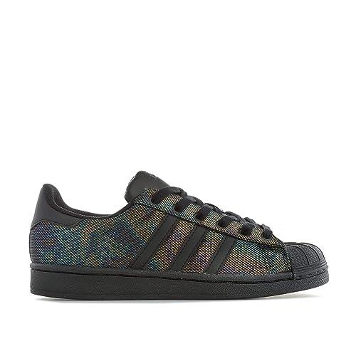 adidas Superstar Black Iridescent J, Zapatillas de Deporte Unisex Niños: Amazon.es: Zapatos y complementos