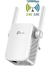 TP-Link Ripetitore WiFi Wireless, Velocità Dual Band AC1200, WiFi Extender e Access Point, Compatibile con Modem Fibra e ADSL(RE305)