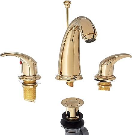 Polished Brass Bathroom Sink Faucet  New KB962