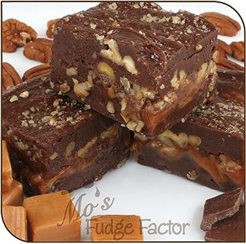 Mos Fudge Factor Chocolate Caramel Pecan, 1/2 pound