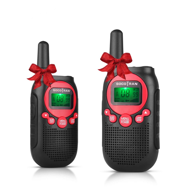 Walkie Talkies Los mejores regalos de cumplea/ños para ni/ños de largo alcance Radio de 2 v/ías recargable PMR446 Ni/ños Walkie Talkie Licencia gratuita Radio amateur Juguetes al aire libre