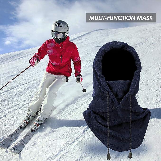 MMTX Passamontagna Sci Scaldacollo Moto Balaclava Sottocasco Moto Unisex Inverno Ski Bike Trekking Alpinismo e Altri Sport Esterni Maschera Cappello