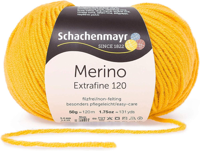50G Anthrazit Meliert Schachenmayr Handstrickgarne Merino Extrafine 85
