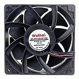 Wathai 12038 120mm x 38mm 5300rpm High Airflow 12V 4pin FG PWM DC Brushless Cooling Fan