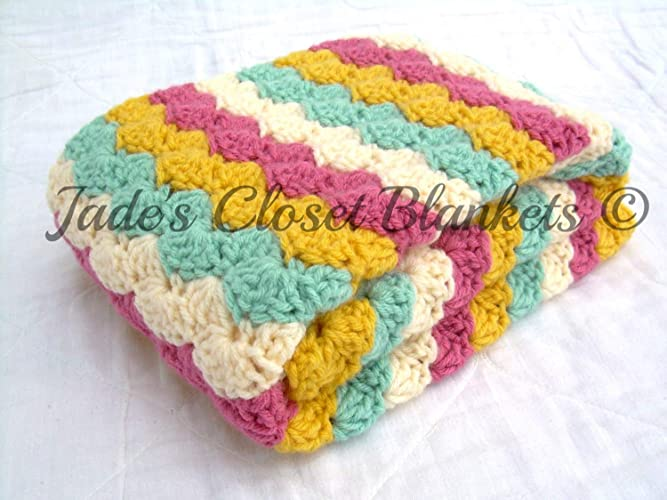 1878482d2876e Image Unavailable. Image not available for. Color  Crochet Baby Blanket ...