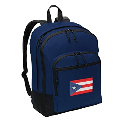 50%OFF Classic Puerto Rico Flag Backpack Medium Puerto Rico Backpack Laptop Sleeve