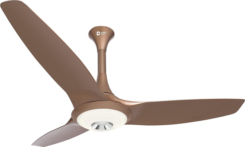 Orient Electric Aerolite 1200Mm Ceiling Fan (Caramel Brown)