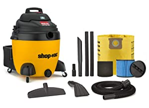 Shop-Vac 9627310 18 Gallon 6.5 Peak HP Contractor Wet Dry Vacuum