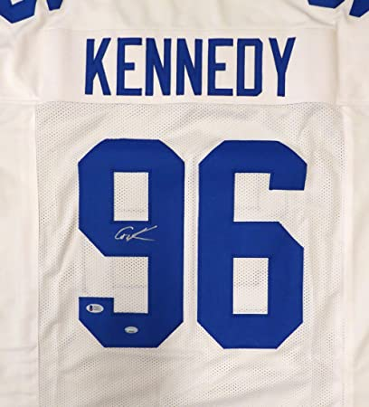 buy online 38ae2 e8840 SEATTLE SEAHAWKS CORTEZ KENNEDY AUTOGRAPHED WHITE JERSEY ...