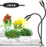 Bozily Grow Lights for Indoor Plants ,Full Spectrum with Timer-75W COB CREE Sunlike Plant Light with 3/6/12/24H Timer ,5…