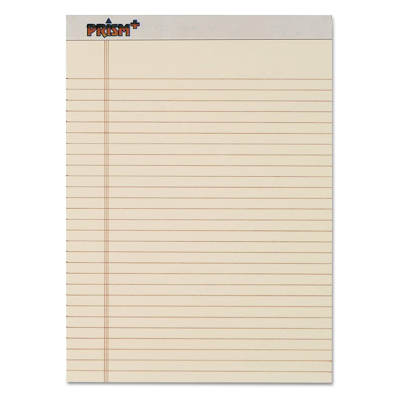 Tops prismt Plus Legal Rule Blöcke, Buchstabe, 50 Blatt Pad, 12 Pk Letter (8.5  X 11 ) elfenbeinfarben B0008GLXOI | Charakteristisch