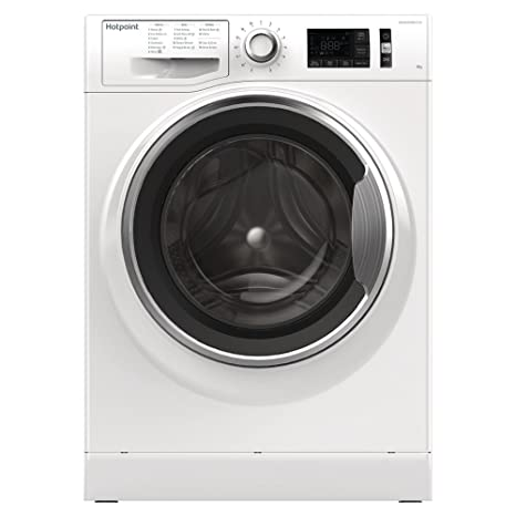 bd75ee8d74 Image Unavailable. Image not available for. Colour: Hotpoint ActiveCare  NM11946WCA Ultra Efficient 9kg 1400rpm Freestanding Washing Machine ...
