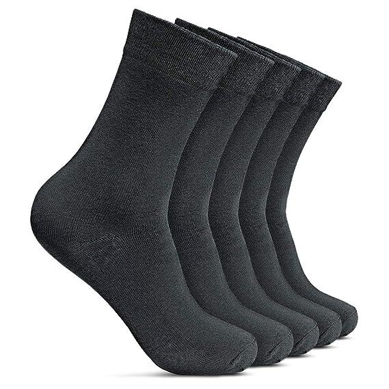 ROYALZ Business Socken für Herren 5 Paar Casual und Freizeit Anzug Herren Strümpfe lang 5er Pack