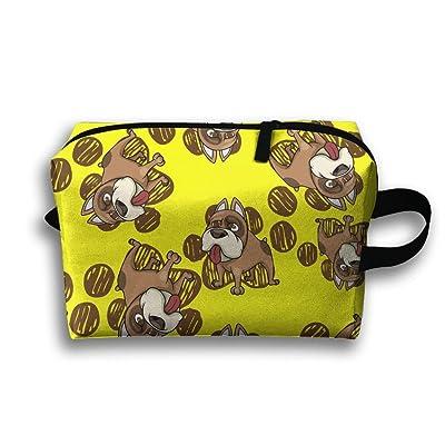 Funny Dabbing Pug Cute Dabbing Dog Attractive Travel Organizer Bag