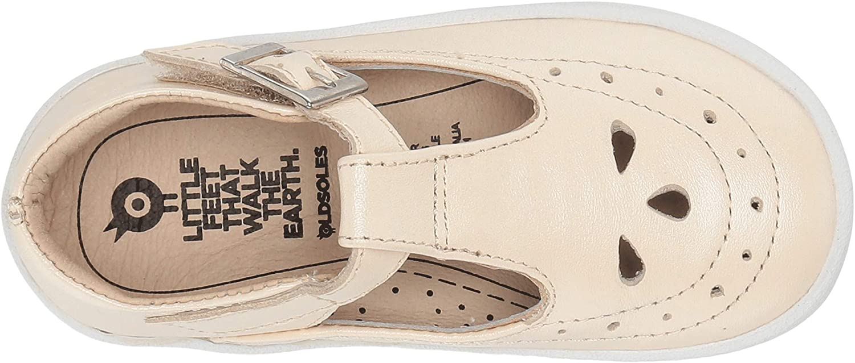 Old Soles Girls 5011 Royal Shoe Premium LeatherT-Strap Sneaker Shoe