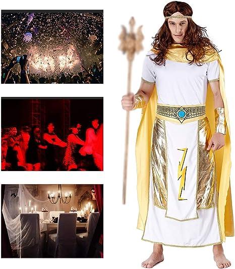 Disfraz De Halloween para Hombre Antiguo Traje De Rey Egipcio ...