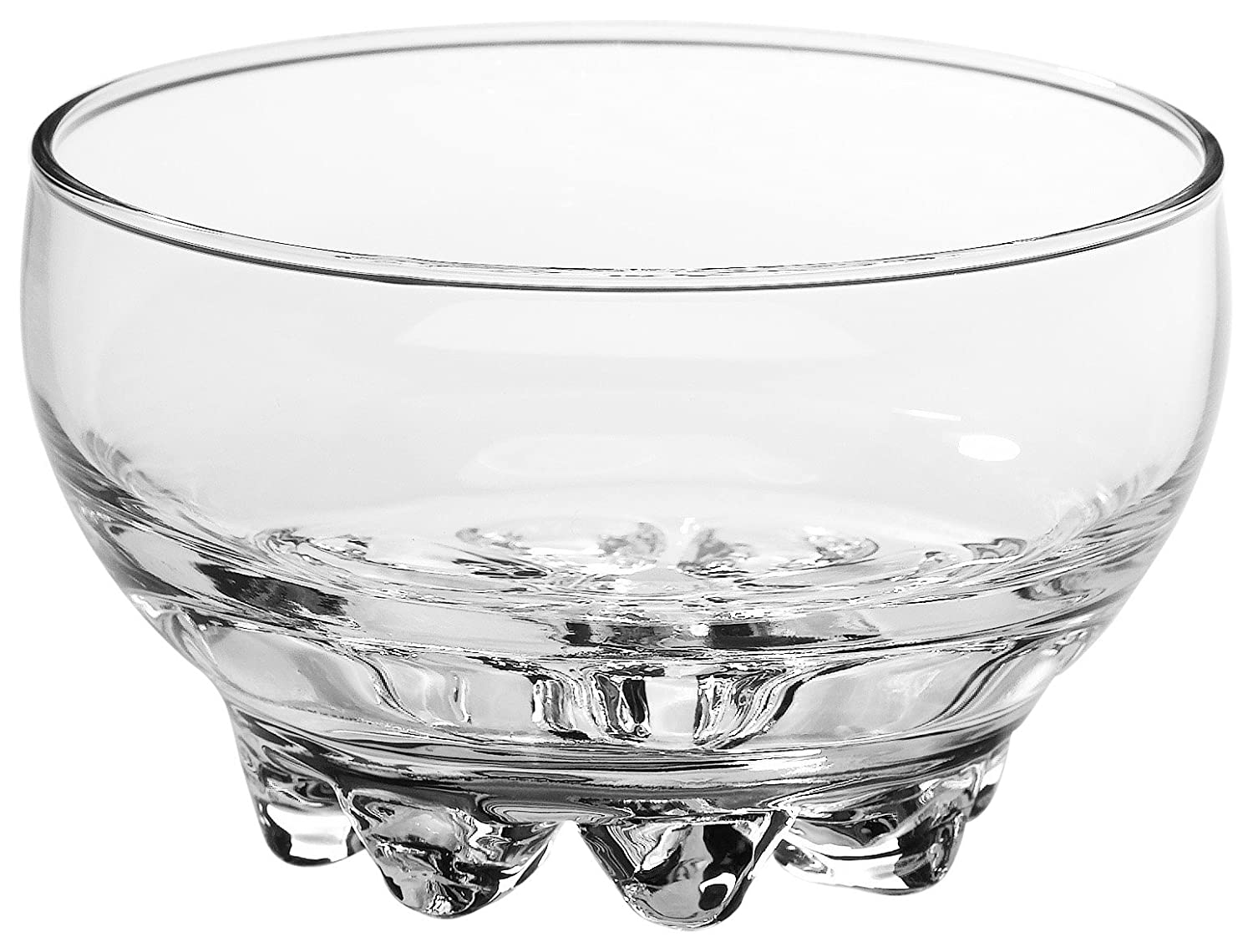 Bormioli Rocco Galassia Shot Glasses – Gift Set Of 6 Drinking Shot Cups With Elegant Curved Shape, Heavy Sham & Interlocking Feet – Short Shooter Tumblers For Liquors & Spirits (2.25oz) 323301G21021990