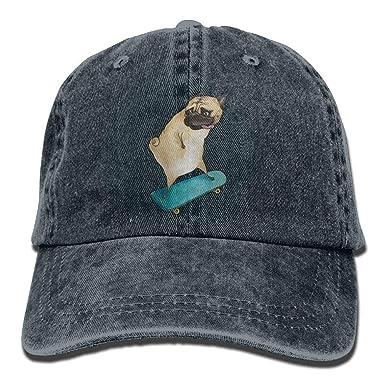 ACATCONDY Gorra Hiphop para Mujer para Hombre, Sombrero de Tela de ...